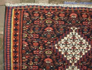 Sennek Kelim-- 3 ft 3 in x 5 ft  Fine weave and nice color as these generally are. This one is nearly mint condition-- which is unusual. $20 ups shipping to  ...