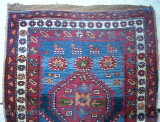 Kurdish 3 ft 4 in x 13 ft 6 in. Thick, plush; supple. Brown wool foundation with original chunky braided ends.  $35 UPS to Lower 48.  Check out recent finds  ...