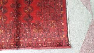Turkmen chuval. Size 175x105 cm