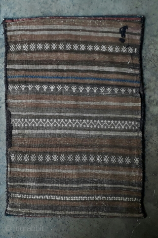 Old balochi balisht with vegetable dyes. Size 75x55 cm