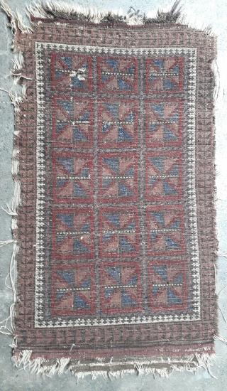 Very old 19th century balochi. Size 100x55cm