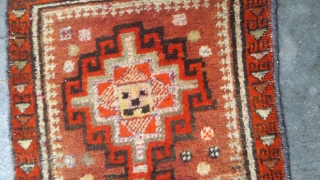 Old balochi with very soft wool. Size 98x58 cm