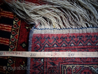 Stunning Old Turkmen prayer rug from north Afghanistan in excellent condition. Size 123x82 cm