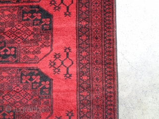 Ersari Turkmen philpai rug with excellent condition.Size 283x87 cm. This rug with make your hallway very beautiful.