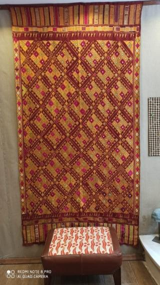 Phulkari old 245x126 Price 500 usd