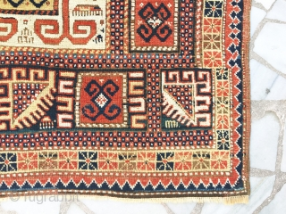 Kazak Karachov --- circa 1880 --- 117 cm. X 172 cm.