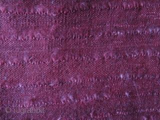 "Anatolian Tulu fragment. Great silky wool. Size: 45.2"" x 39.3"" - 100 cm x 115 cm."