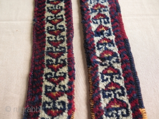 "Kurdish pile band.Size is 3"" x 52"" - 8 cm x 132 cm long without tassels."