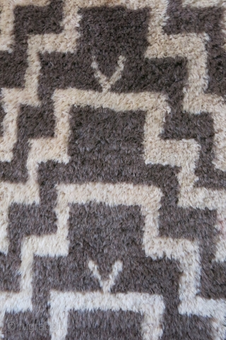 Anatolian Konya – Karapinar Turkmen tulu type of all wool rug. Made of all natural high altitude wool and traditional step prayer design which is popular motif in between Taurus Mountain Turkmen  ...
