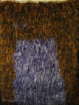 "Anatolian - Taurus mountains angora type wool Tulu- Filikli. Size: 66"" X 48"" - 168 cm X 122 cm"