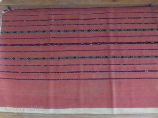 Turkmen Tekke large size chuval, very fine pile and flat weave with great all natural colors. Ivory plain back side with good condition. Minor corner problems can be fixed easily. Circa: 1900  ...