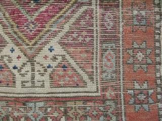 "Anatolian yastik. Size: 21"" x 35"" - 52 cm x 88 cm."