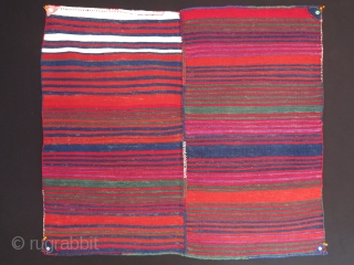 "Western Anatolia - Bergama - Balikesir tribal sofreh. all wool, Red is madder and it is not hot at all as it looks in the images.circa 1920 -1930s.  size: 37"" X  ..."