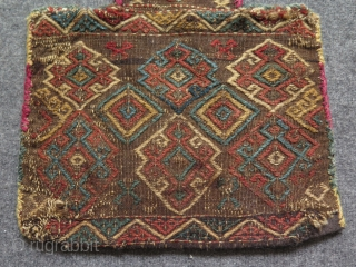 Shahsevan Salt Bag. Circa late 19th century.