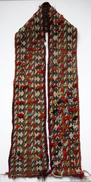"""Qashqai band. Size 5.5"""" x 63"""" - 14 cm x 160 cm."""