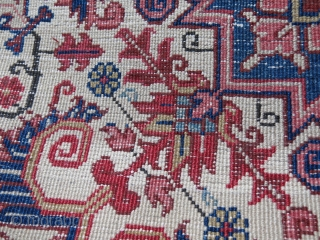 "Iran - Heriz sampler. Great condition and nayural colors. Size: 37"" X 24"" 97 cm X 60 cm"