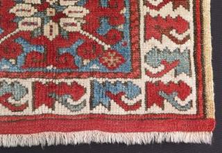 """West Anatolian Kozak bagface. Size: 17.5"""" x 15"""" - 45 cm x 38 cm."""