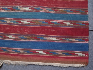 Shahsevan kilim. Size; Approx. 150 cm x 300 cm - 5 ft by 10 ft.