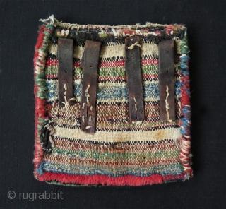 "Persian small chanteh. Size: 8.2"" x 8.6"" - 21 cm x 22 cm"