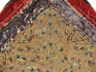 "Turkmen Yomud small vanity bag. Size: 8.5"" x 13.5"" - 22 cm x 35 cm"