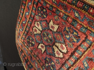 "South West Persian small bagface. Great silky wool, all natural colors. Size: 12"" x 10"" - 30 cm x 26 cm."