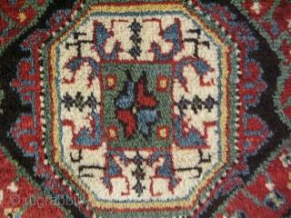 "19th century Dazkiri rug. Some minor repairs. Size: 50"" x 72"" - 128 cm x 183 cm."