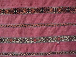 Turkmen Tekke finely woven chuval.