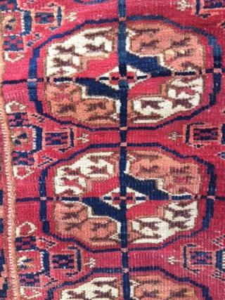 Small Turkman Rug.115x100cm