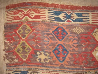 Central Anatolian Kilim fragment.