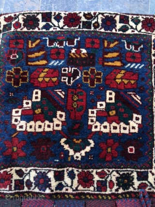 Persian saddle bag.Full pile and good condition.