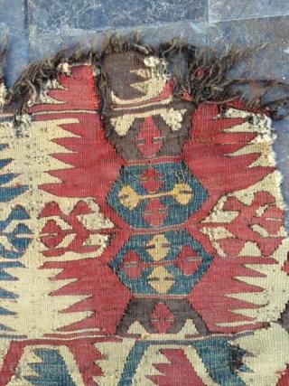 South -West Anatolian Mut kilim.Needs good wash.The size 120x225cm