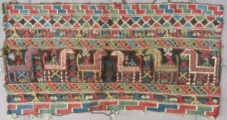 SHAHSAVAN FREG.  80 X 40  cm