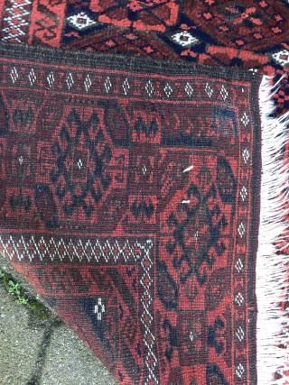 Beautiful antique Baluch rug, good quality, size: 172x94cm / 5'7''ft x 3'1''ft