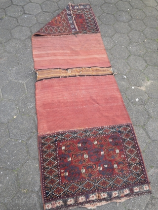 "Antique Afshar doublebag (so called ""Khorjin"") from Southpersia. All natural colors, very nice collector´s item"