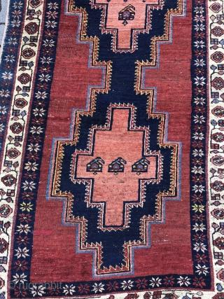 Antique Persian Bidjar runner, age: 19th century. Wool foundation. Size: ca. 300x105cm / 9'9''ft x 3'4''ft