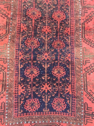Antique Baluch rug, size: ca. 170x95cm / 5'6''ft x 3'1''ft