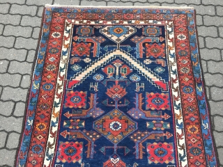 Antique Persian Kolyai / Hamadan rug, size: 200x125cm / 6'6''ft x 4'1''ft