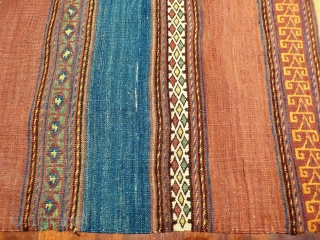 A naturally dyed Belouch runner with a superb range of colours and in good original condition.