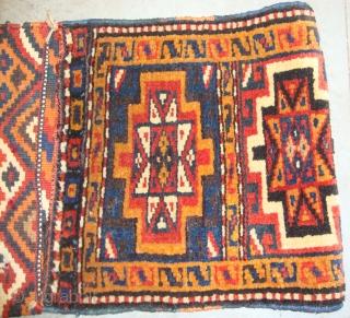 Nice small bakhtiyari saddle bag (circa 1920) perfect condition size 73c x 32cm