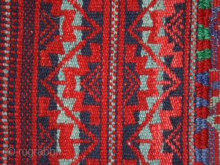 Kilim cod. 0280. One of the special offer just added on my new website www.nonplusultra.cloud. Goat and camel wool. Beduin people. Sahel region. North Africa. Mid. 20th. century. Very good condition. Cm.  ...