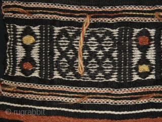 """Textile fragment """"Arkilla Kerka"""" cod. 0458. One of the items added on my new website www.nonplusultra.cloud. Wool hand woven cotton natural dyes. Peul people. Mali. Early 20th. century. Good condition with damages  ..."""