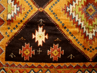 "Pile carpet cod. 0509. One of the pieces added on my new website www.nonplusultra.cloud. Wool traditional dyes. Taznak area. Morocco. First half 20th. century. Perfect condition. Cm. 140 x 270 (4'7"" x  ..."