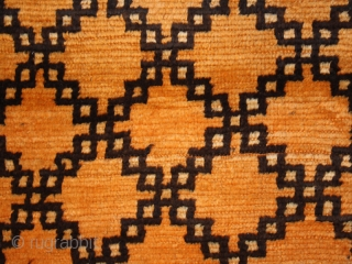 Pile carpet cod. 0510. One of the items added on my new website www.nonplusultra.cloud. Wool traditional dyes. High Atlas area. Morocco. Ait Ouaouzguite Berber tribe. First half 20th. century.Fair condition with some  ...