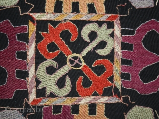 Kungrad embroidery cm. 60 x 65. One of the new pieces added on www.nonplusultra.com