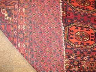 tekke chaval circa 1900. very fine quality over all very good condition.