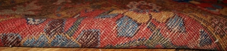 #1B443  Hand made antique collectible Persian Bidjar runner 3.3' x 10.5' ( 100cm x 320cm ) C.1860