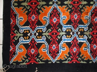 #1C443  Vintage Moroccan Berber rug 6' X 9.8' ( 185см X 300см) C.1970