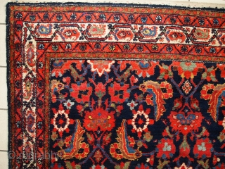 #1C323  Handmade antique Persian Malayer runner 5.5' x 11.6' ( 170cm x 356cm ) 1920.C