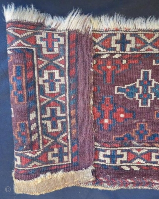 19th century yamut torba ,70 x 30 cm