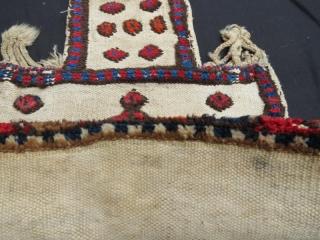 Antique Bahtiyari salt bag. 60 x 45 cm . www.eymen.com.tr